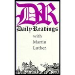 Daily Readings with Martin Luther, Martin Luther, 0872431576