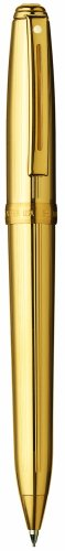 Sheaffer Fluted Prelude - Sheaffer Prelude Mechanical Pencil, Fluted 22K Gold Plate Finish with 22K Gold Plate Trim (SH/368-3)
