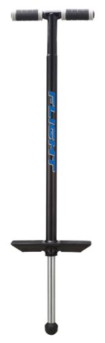 (NSG Flight Premium Perfomance Pogo Stick - Ages 9 and Up - 80 - 180 Pounds, Black )