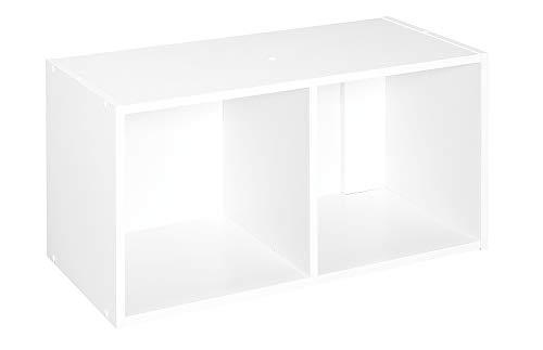 Cube 2 Pack - ClosetMaid 8947 Cubeicals Organizer, 2-Cube, White