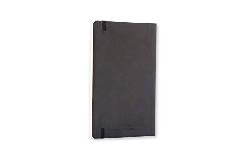 """Moleskine Classic Notebook, Soft Cover, Pocket (3.5"""" x 5.5"""") Plain/Blank, Black, 192 Pages"""