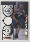 07 Topps Full Court (Ronnie Brewer #409/499 (Basketball Card) 2006-07 Topps Full Court - Full Court Press - Relic #FCP16)