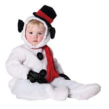 Frosty Snow Girl Costume (Snowman - Jumpsuit Toddler Costume Size 18-24 months Medium)