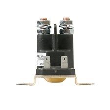 Spst Continuous Duty Plastic Solenoid 100A Studs 1 Min by Del City