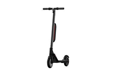 ninebot Segway ES4 | Electric Kickscooter with Extended 2nd Battery | High Performance, Portable, Cruise Control, Shock Absorption, LED Underglow, App Connect (Silver)