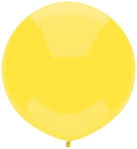 Single Source Party Supplies - 17'' Sun Yellow Outdoor Latex Balloons - Case of 720 by Single Source Party Supplies