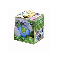 Biodegradable Natural Rubber Latex Gloves 50 per Box Adult Medium Size by HandCare (Image #2)