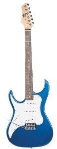 AXL Headliner Series エレキギター, 3/4-Sized, Metallic Blue, レフトハンドモデル レフティ 左利き エレキギター エレクトリックギター ギター(並行輸入) B00J6VUC7K