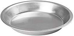 Winco APPL-8, 8'' Aluminum Round Pie Pan, Metal Baking Whooppie Plate, NSF