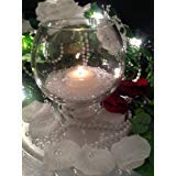 Spring Rose(TM) 2 Inch White Floating Candles-set of 50. These Are Great for Wedding Centerpieces or Party Decorations.