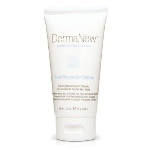 DermaNew Facial Rejuvenation Microdermabrasion Creme for Sensitive/Normal Skin - Creme Microdermabrasion