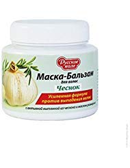 Mask - Balsam Garlic Against Hair Loss with Garlic Extract and Rosemary Oil 250 Ml by Russian field by Russian field