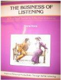 The Business of Listening, Diane Bone, 0931961343