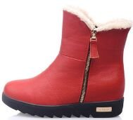 Laruise Women's Snow Boots Red DbgWs8