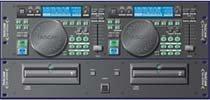 TASCAM CD-X1700 Pro Performance Dual DJ CD Player