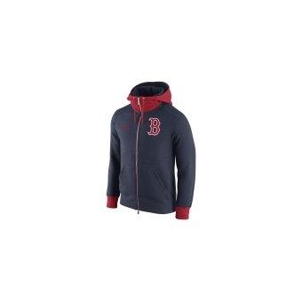 lowest price 25aa2 bec49 Nike Men's Boston Red Sox Men's Logo Blended 1.4 Full-Zip ...