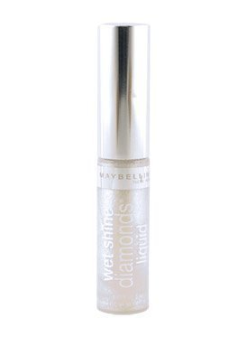 Maybelline Wet Shine Diamonds Liquid Lip Gloss, Clear Cut Di
