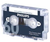 Philips LFH0007 10 Pack 60-Minute Mini Cassette Tape - 10-Pack by PHILIPS