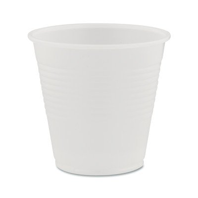 Dart Products - Dart - Conex Translucent Plastic Cold Cups, 5 oz, 2500/Carton - Sold As 1 Carton - Perfect for occasions where cold beverages are served. - Raised sidewall rings increase cup strength and provide secure gripping surface. - Crack-resistant design helps avoid spills. - Translucency allows for better drink identification. - -