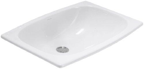STERLING 442007-0 Stinson Self-Rimming Lavatory, White