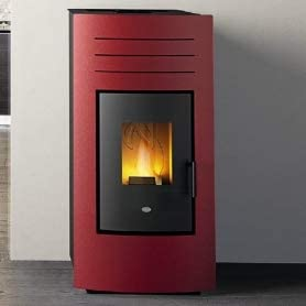 Eva Calòr Hydro 27 termostufa y Caldera de Pellet: Color - Negro, EVA Calor ACS - ACS Integrado