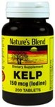 Nature's Blend Kelp 150 mcg (Iodine) 200 Tablets Review