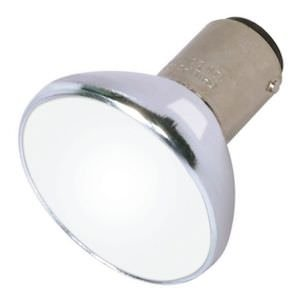Satco 04189 - 20ALR12/FL32 FROST GBF S4189 Bayonet Base Single Ended Halogen Light - Dc Bay Frost