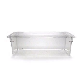 Cambro 18269CW135 18'' x 26'' Polycarbonate Camwear® Food Storage Containers, Clear (4/Case) by Cambro