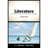 Literature- An Introduction to Fiction, Poetry, Drama, & Writing, Compact Edition (6th, 10) by Kennedy, X J - Gioia, Dana [Paperback (2009)] PDF