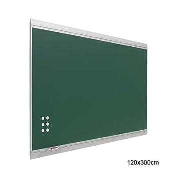 Pizarra verde magnética 120x300cm