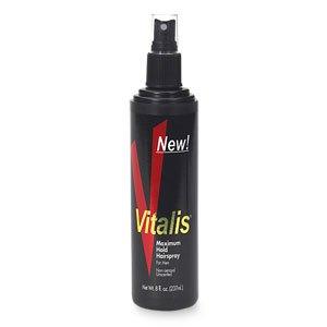Price comparison product image Vitalis Maximum Hold Hairspray for Men 8 Oz ,2 pack