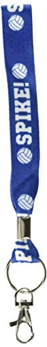 Amscan 397362 Volleyball Key Strap Lanyard Favors (6 Piece), Multi -