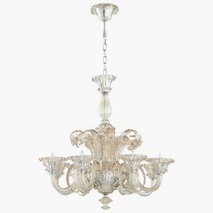 (Cyan Design 06445 La Scala Eight Light Chandelier Large )