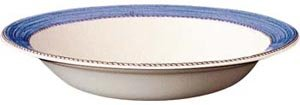 Wedgwood Sarah's Garden Blue Pasta Bowl / Rimmed Soup 11.25'' (Set of 4) by Wedgwood