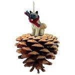 Conversation Concepts Akita Fawn Pinecone Pet (Akita Fawn Figurine)