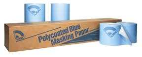 36 in. x 738 ft. Roll Polycoated Blue Paper