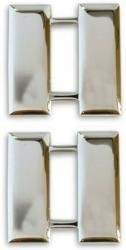 (Army / Air Force Captain Collar Device Rank Insignia Pair)