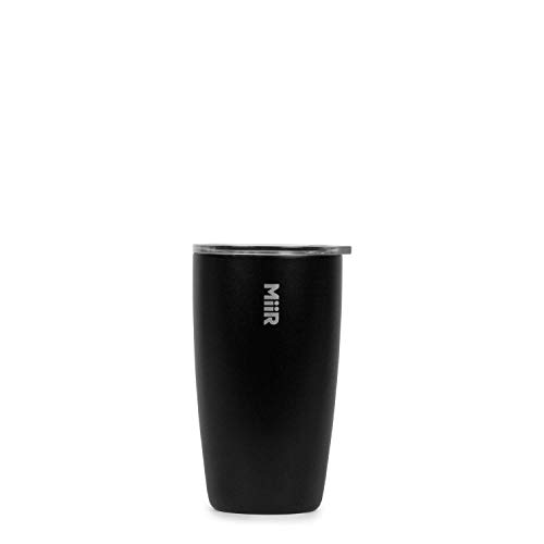 MiiR Insulated Tumbler with press-on lid, Black, 8oz