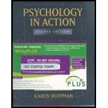 Psychology in Action, Huffman, Karen, 0470054859