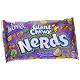 Wonka Nerds Giant Chewy Candies, 1.8-Ounce Bag (Pack of (Nerds Jelly Beans)