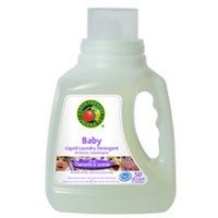 Earth Friendly Baby Ecos Laundry Detergent Chamomile and Lavender, Chamomile and Lavender 50 oz (Pack of 2)