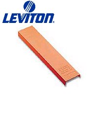 Leviton 40050-MH0 Hinged Cover for Demarc or M Blocks - Orange