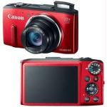 Powershot 12.1 Mp Compact - Canon PowerShot SX280 HS 12.1 Megapixel Compact Camera - Red (8225B001) -
