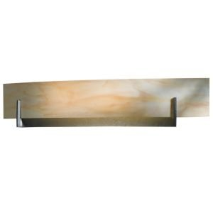 - Axis Large Wall Sconce by Hubbardton Forge : R285467 Lamping Fluorescent Finish Dark Smoke Shade Sand