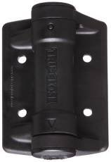 D&D Technologies TCHD1AS3BT V6214 Stanley Heavy Duty Self Closing Spring Gate Hinge, Black (Pack of 2)