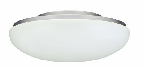 Royal Pacific 1RP220BP-L-ES Energy Star Rated with Two 13-watt GU24 Base Lamps Included Fluorescent Ceiling Fan Light Kit, Brushed Pewter by RP Lighting