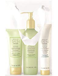 Mary Kay Satin Hands Pampering Set Scrub, Cream & Softener - White Tea & Citrus