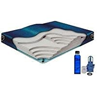 California King Waveless Waterbed Mattress 72w x 84L Boyd Lumbar Supreme with a Fill Kit & a 4oz Bottle of Premium Clear Bottle Conditioner