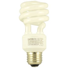 Replacement For WESTINGHOUSE 14MINITWIST/27/CD COIL-TWIST-SPIRAL Light Bulb ()