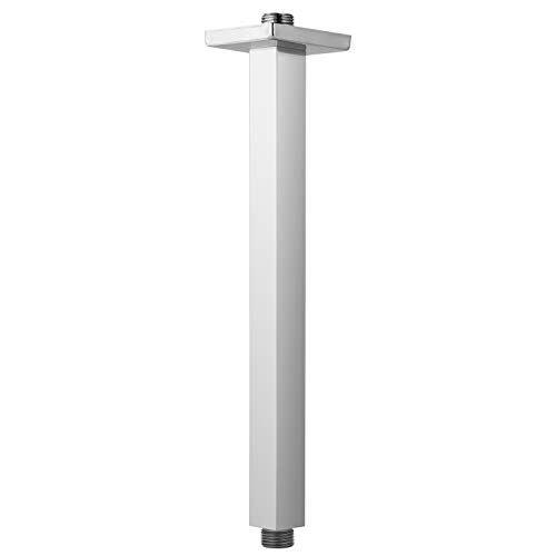 EMBATHER Shower Arm Ceiling Mount Square 12